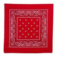 Buy 100% Cotton Red Cowboys Classic Bandana at wholesale prices
