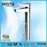 Quality SENTO stainless steel high faucets bathroom basin faucet for sale
