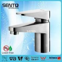 Quality Luxury bathroom series hot cold water basin mixer water faucet for sale