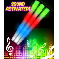Quality LED Sound Activated Foam Stick Baton - Multicolor for sale