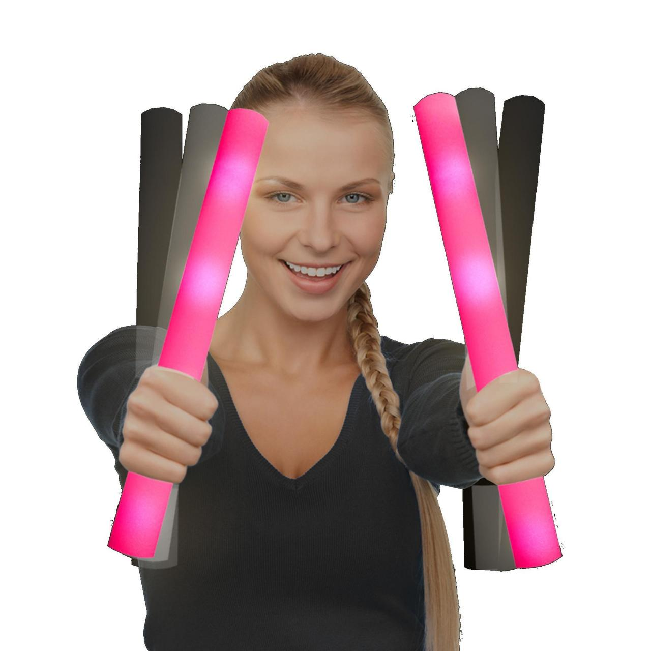 Quality LED Foam Stick Baton Supreme - Pink for sale