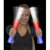 Quality LED Foam Stick Baton Supreme - Red-White-Blue for sale