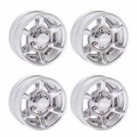 "Quality DJX 4PCS 1.55"" Aluminium Wheel Rim Hubs for 1/10 RC Axial SCX10 TAMIYA CC01 RC4WD D90 D110 for sale"