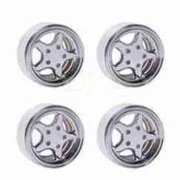 Quality DJX 4PCS Alloy 1.9inch Wheel Hubs for 1/10 RC Axial SCX10 TRX4 RC4WD Land Rover Defender D90 D110 for sale