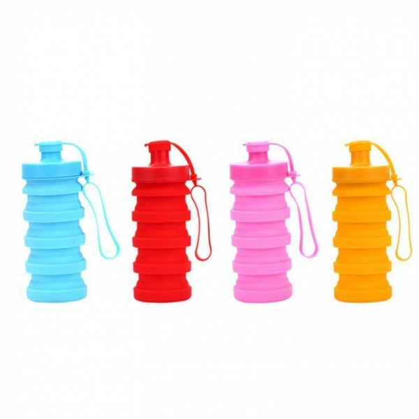 Buy Silicone Sport Water Bottle Collapsible Water Bottle at wholesale prices