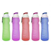 Quality Silicone Collapsible Sport Water Bottle For Kids for sale
