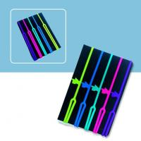 Quality Fancy Promotion Gifts Color Silicone Bookmark for sale