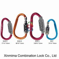 Quality locking aluminum carabiner series for sale