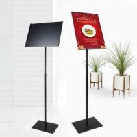 Quality pos display sign holder poster display for sale