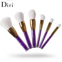 Buy cheap Acrylic handle crystal glitter diamond makeup brush set from wholesalers