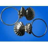 Quality Household products 32mm metal curtain ring with clip for sale