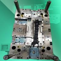 Guide-Tray Left LM Mold, ABS+ PC Plastic mold design and maker