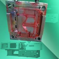 OEM Plastic Main Frame Mold Design and Processing, ATM machine plastic Frame