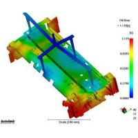 Quality Mold Flow Analysis for High Precision plastic mold manufacturing, CAE, mold design for sale