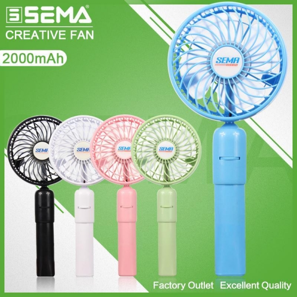 Buy SEMA-L100 Cooling Fan with External Power Bank at wholesale prices