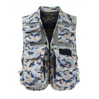 Quality Men's Graphic Fishing Vest for sale