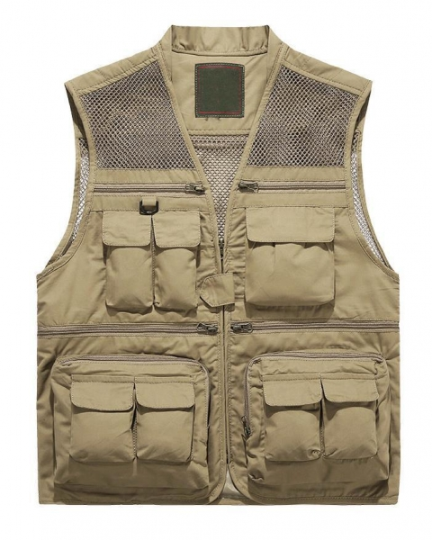 Buy Men's Reversed Fishing Vest at wholesale prices