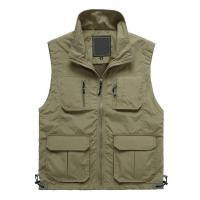 Quality Men's Microfiber Fishing Vest for sale