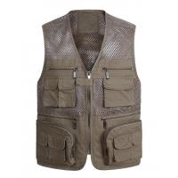 Quality Men's Breathable Fishing Vest for sale