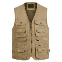 Quality Men's Twilled Fishing Vest for sale