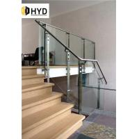 Quality HYD-GR051Glass balcony/swimming pool fence/balustrade/fencing/frameless glass railing systems for sale