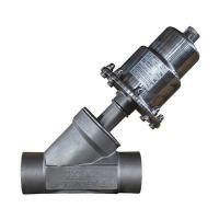 Quality Angle Seat Valve Y type stainless steel angle seat valve for sale