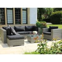 Buy cheap High quality aluminum frame outdoor sun rattan lounge from wholesalers