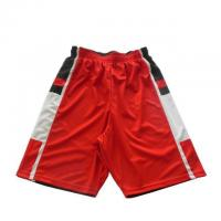 Buy cheap Team Order Red Basketball Shorts from wholesalers