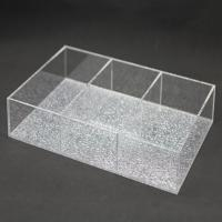 Quality 6 Section Acrylic Jewelry Drawer Organizer for sale