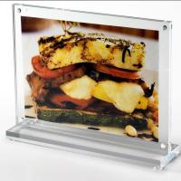 Buy cheap Acrylic T Shape Table Top Double Sided Sign Holder 5x7 from wholesalers