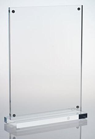 Buy 5 x 7 Acrylic Sign Holder with Magnets, T-style - Clear DSN12227 at wholesale prices