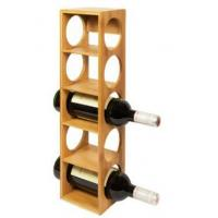 Woodluv Bamboo Stackable Wine Rack Stand Holder DSN12280