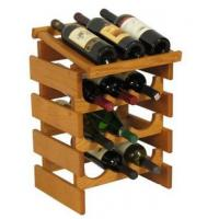 Quality Drink Displays 12 Bottle Wine Rack with Display Top - Triple Row DSN12275 for sale