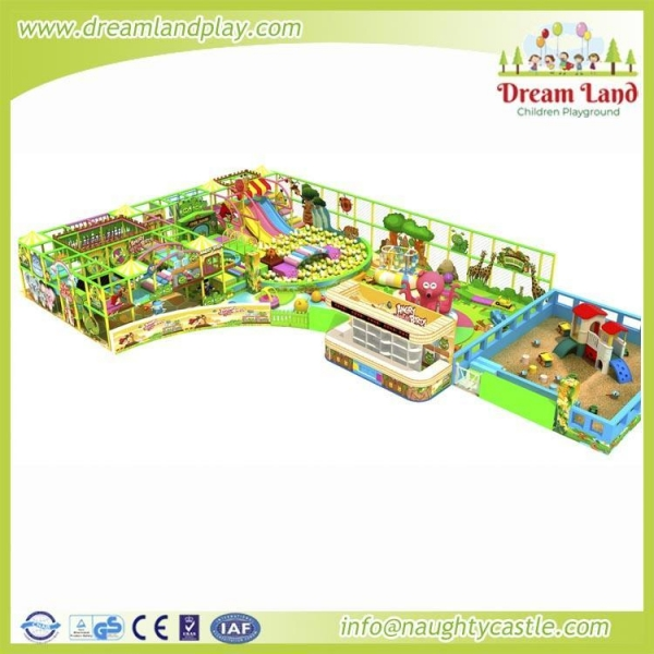 Buy DL-304 Indoor playground at wholesale prices