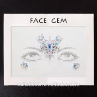 Buy cheap Face stickers Fast shipping Rhinestone Bindis from wholesalers