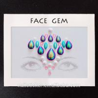 Buy cheap Face stickers Factory price with high quality festival jewel from wholesalers