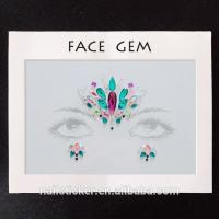 Buy cheap Face stickers Hot selling OEM face gems sticker from wholesalers