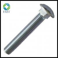 Quality Zinc Plated Carbon Steel Carriage Boltxx for sale