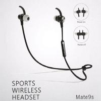 Buy Handsfree Music BT Portable Sound Sport Running Headset Mate9s Wireless BT Earphone at wholesale prices