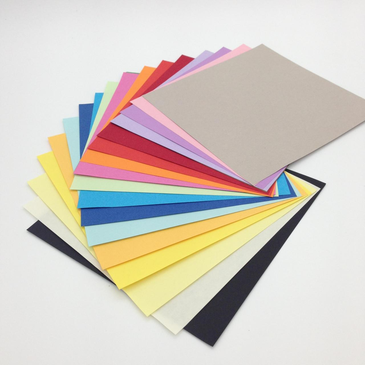 Quality origami paper & construction paper color origami 20colors 200pcs for sale