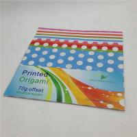 Quality origami paper & construction paper printed origami paper 25x25cm for sale