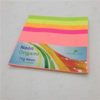 Quality origami paper & construction paper neon origami for sale