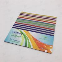 Quality origami paper & construction paper printed origami paper - transparent for sale
