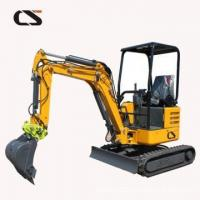 Buy cheap mini hydraulic excavator price 2.2/1.8Ton Turbo Engine from wholesalers