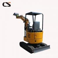 Buy cheap 0.8ton 1ton 2 ton mini Crawler Excavator from wholesalers