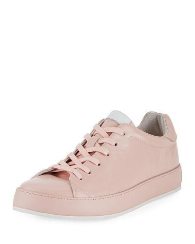 Buy Rag & Bone Rb1 Spazzolato Low-Top Sneaker With Leather-Wrapped Sole Pink Women Shoes at wholesale prices