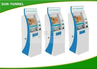 Buy All In One 17 Inch Bill Payment Terminal , Multifunction Kiosk Touch Screen at wholesale prices