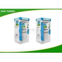 Quality Dual Screen ATM Bill payment kiosk information systems with Cash Dispenser for sale