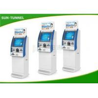 Quality Indoor Utility 17 Inch Touch Screen Bill Payment Kiosk 1 Year Warranty for sale