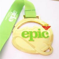 Buy cheap Medal Gold Silver Copper Custom Race Medal from wholesalers